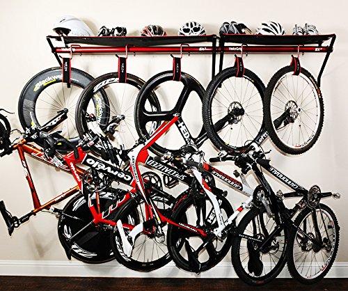 Cheap VeloGrip Home Storage 2-Bike Rack – Sx2 Red/Red