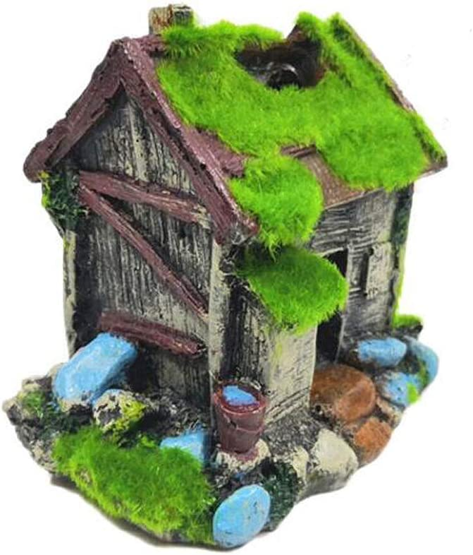 Country House A Fish Tank Decorations Aquarium Decoration Medium Ornaments Accessories Fish Hides Country House
