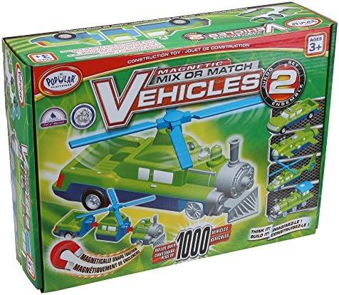 Playthings Lot de 2 véhicules à mélanger ou assortir