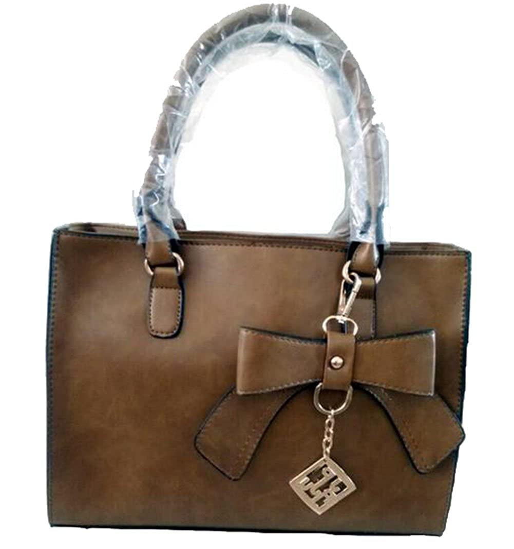 Brown Joyloading Luxury Formal Elegant Women Bowknot Handbag