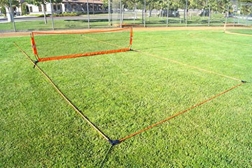 18'' Soccer Tennis Court by Bownet