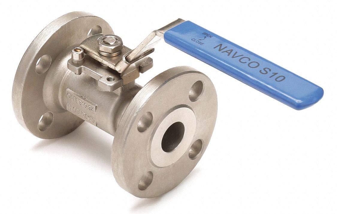 NAVCO CF8M - Válvula de bola con brida de acero inoxidable ...