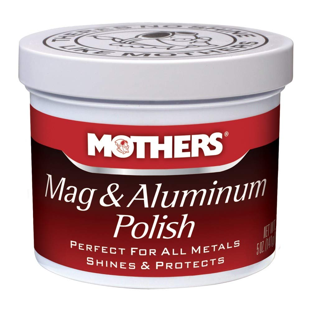Mothers 05100 Mag & Aluminum Polish - 5 oz.