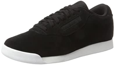 Reebok Princess Eb, Sneakers Basses femme Noir (Black