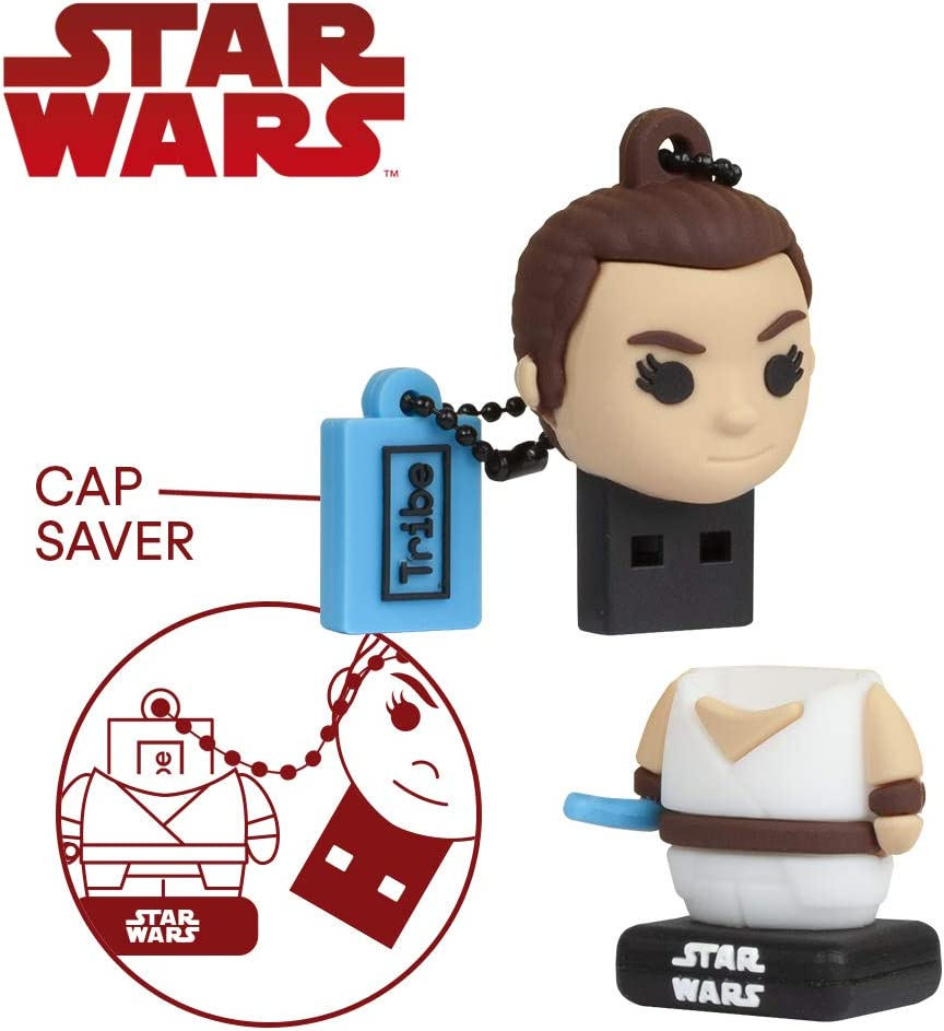 Llave USB 16 GB Rey - Memoria Flash Drive 2.0 Original Star Wars ...