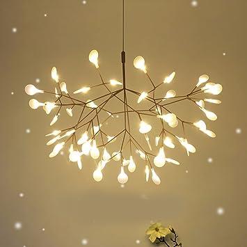 Branch Chandelier Bedroom Living Room Dining Creative Art Deco Leaf Chandelier51CM Quot