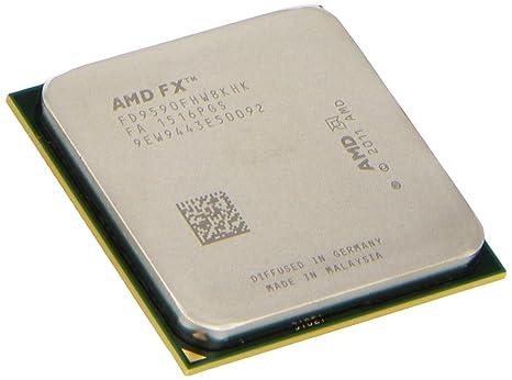 AMD FX-9590 8-core 4 7 GHz Socket AM3+ 220W Black Edition Desktop Processor  FD9590FHHKWOF