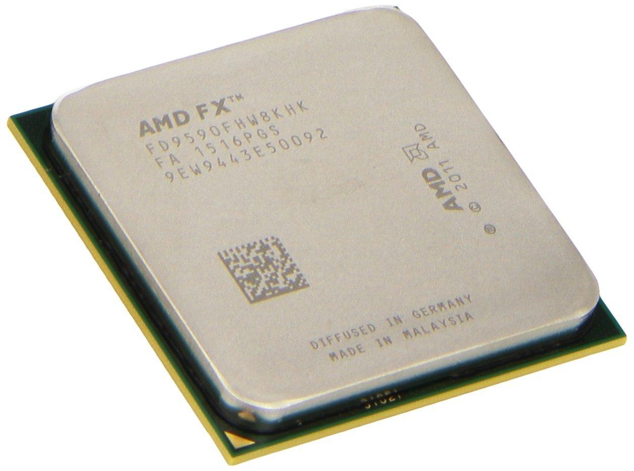 AMD FX-9590 8-core 4.7 GHz Socket AM3+ 220W Black Edition Desktop Processor FD9590FHHKWOF by AMD