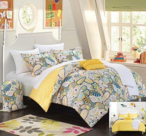 Chic Home 10 Piece Princess Paisley and Polka Dot Printed...