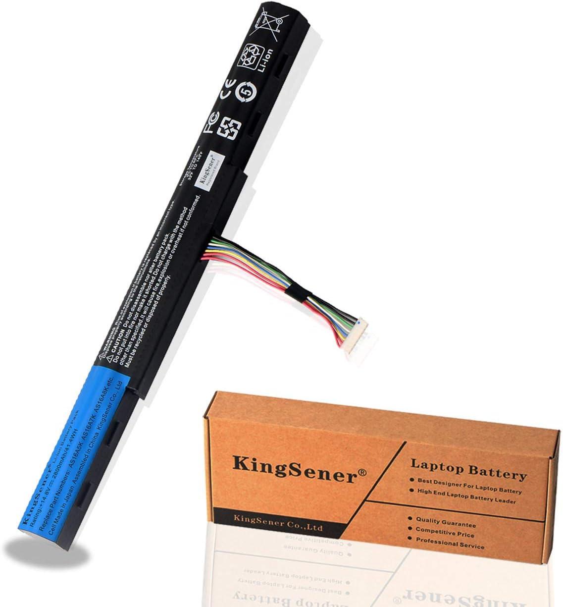 KingSener New AS16A5K Battery for Acer Aspire E15 E5-475G 523G 573G 575G 774G E5-575G E5-575-59QB E5-575G-53VG AS16A7K AS16A8K