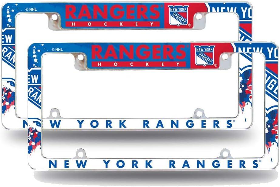 New York Rangers Chrome License Plate Frame