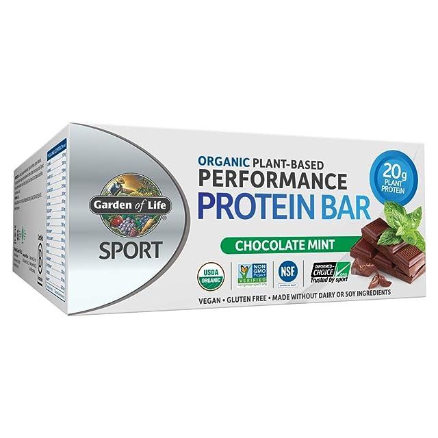 Garden of Life Organic Sports Protein Bar