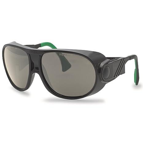 Uvex schweisser Gafas protectoras/Gafas Futura 9180, cristal de policarbonato, marrón