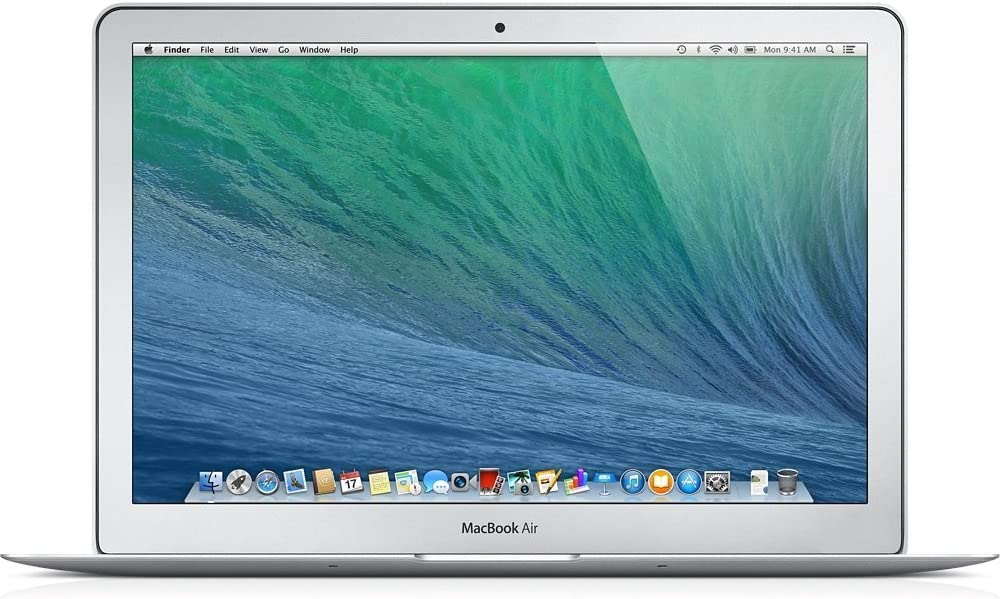 Apple MacBook Air MD760LL/B 13.3-Inch Laptop (Intel Core i5 Dual-Core 1.4GHz up to 2.6GHz, 4GB RAM, 128GB SSD, Wi-Fi, Bluetooth 4.0) (Renewed)