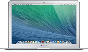 (Renewed) Apple MacBook Air MD760LL/A 13.3-Inch Laptop (Intel Core i5 Dual-Core 1.3GHz up to 2.6GHz, 4GB RAM, 128GB SSD, Wi-Fi, Bluetooth 4.0)