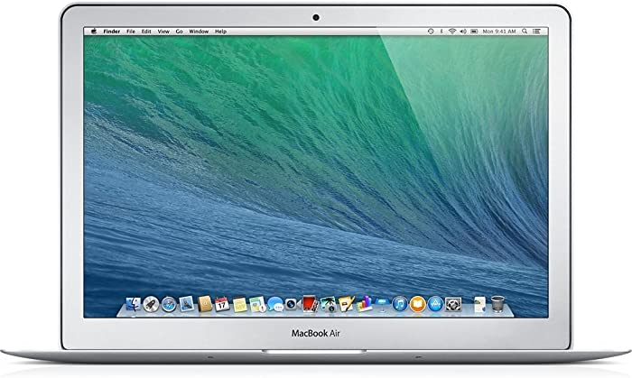 Apple MacBook Air 13.3-Inch Laptop MD760LL/B, 4GB Ram - 128GB SSD - 1.4 GHz Intel i5 Dual Core (Renewed)