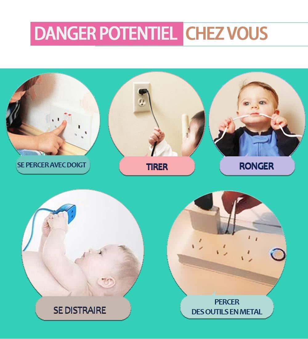Steckdose Kindersicherung Steckdosenschutz Steckdosen 24pcs /&6 Schl/üssel Schutz Kindersicherung Steckdosensicherung Baby