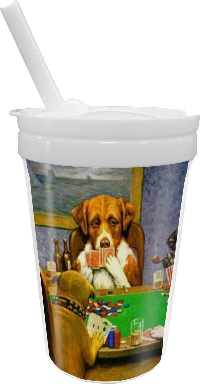 訳あり Dogs Straw Playing Poker 1903 CMCoolidge CMCoolidge Sippy Cup with Straw Dogs B076ZXFJ2Z, コンタクトケア専門アイケアプラス:37b5e9f2 --- beyonddefeat.com