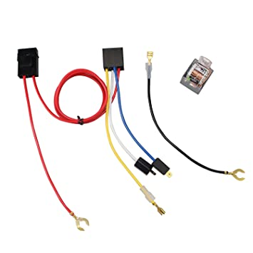 Amazon.com: GAMPRO 12V 80 Amp Relay Switch Harness Set with ... on