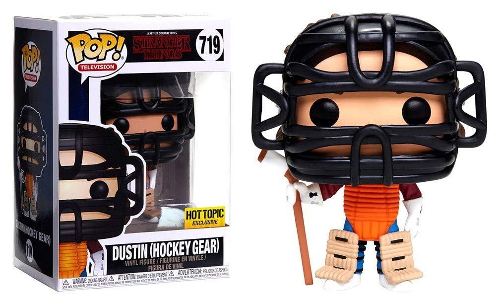 Funko Pop! Stranger Things - Dustin (Hockey Gear)