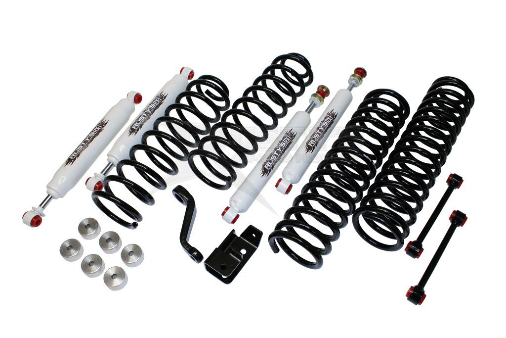 TJ Rustys Off-Road 3-inch Basic Suspension Lift Kit