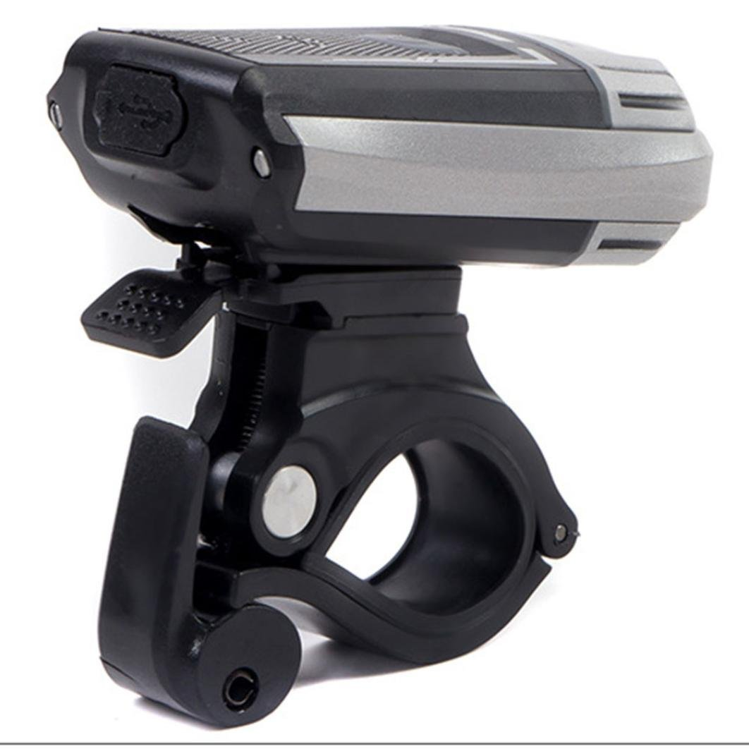 UMFun USB Rechargeable Bicycle Bike Front Light Cycling Head Lamp Headlight Range:300-400m