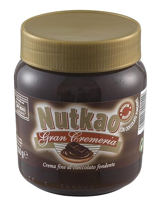 10 opinioni per Nutkao Crema al Cioccolato Fondente- 350 gr- [confezione da 6]