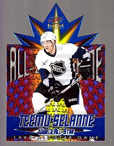 1997 Nhl All Star Game ((CI) Teemu Selanne Hockey Card 1997-98 Revolution 1998 AS Game Die-Cuts 1 Teemu Selanne)
