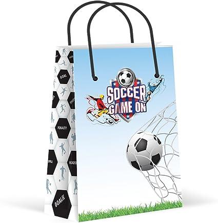 Amazon.com: Bolsas de fiesta de fútbol, bolsas de ...