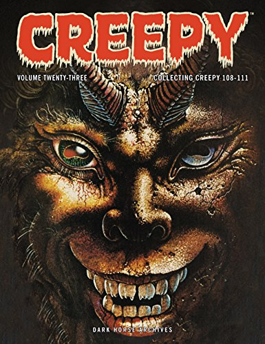 Creepy Archives  Volume 23: Collecting Creepy 108-111 -
