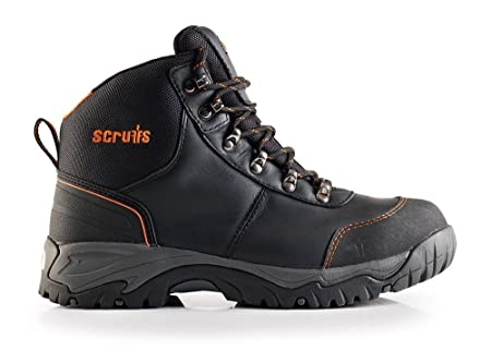 aae3c5bdf3f Scruffs T53450 Size 10 Assault Hiker Workwear - Black: Amazon.co.uk ...