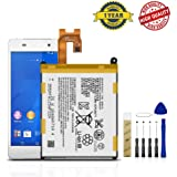 for Sony Xperia Z3V D6708 / Z2 D6502 D6503 D6543 Replacement Battery LIS1543ERPC Free Adhesive Tool