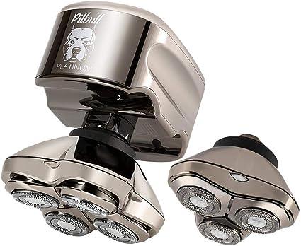 La afeitadora eléctrica Skull Shaver Pitbull Platinum PRO para ...