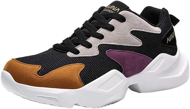 Posional Zapatos Casuales Ligeros Zapatos De Viaje Deportivo De Exterior De Hombre Zapatillas Running Hombre Mujer Ligero Transpirable Zapatos Deporte para Correr Trekking Sneakers: Amazon.es: Deportes y aire libre
