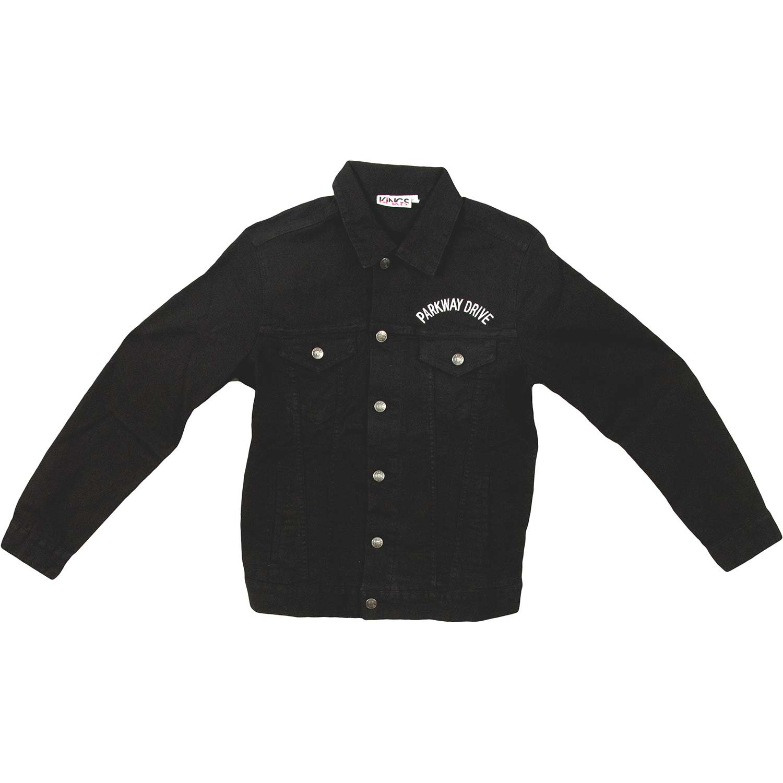 Parkway Drive Men's Bottom Feeder Denim Jacket Denim Jacket Small Faded by Parkway Drive