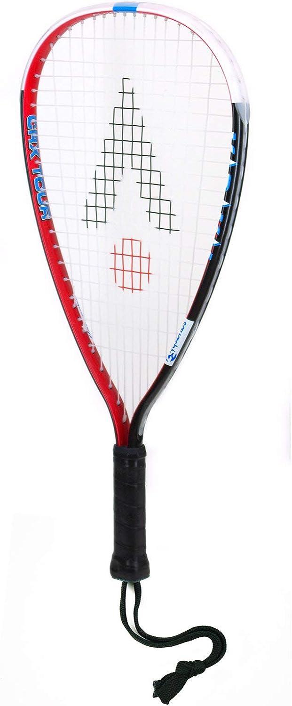 Raqueta de squash unisex CRX talla /única Karakal KQ 4727 color negro//rojo