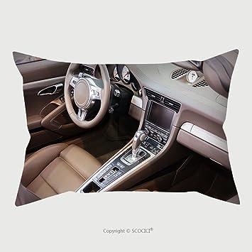 Amazon Com Custom Satin Pillowcase Protector Dark Luxury Car