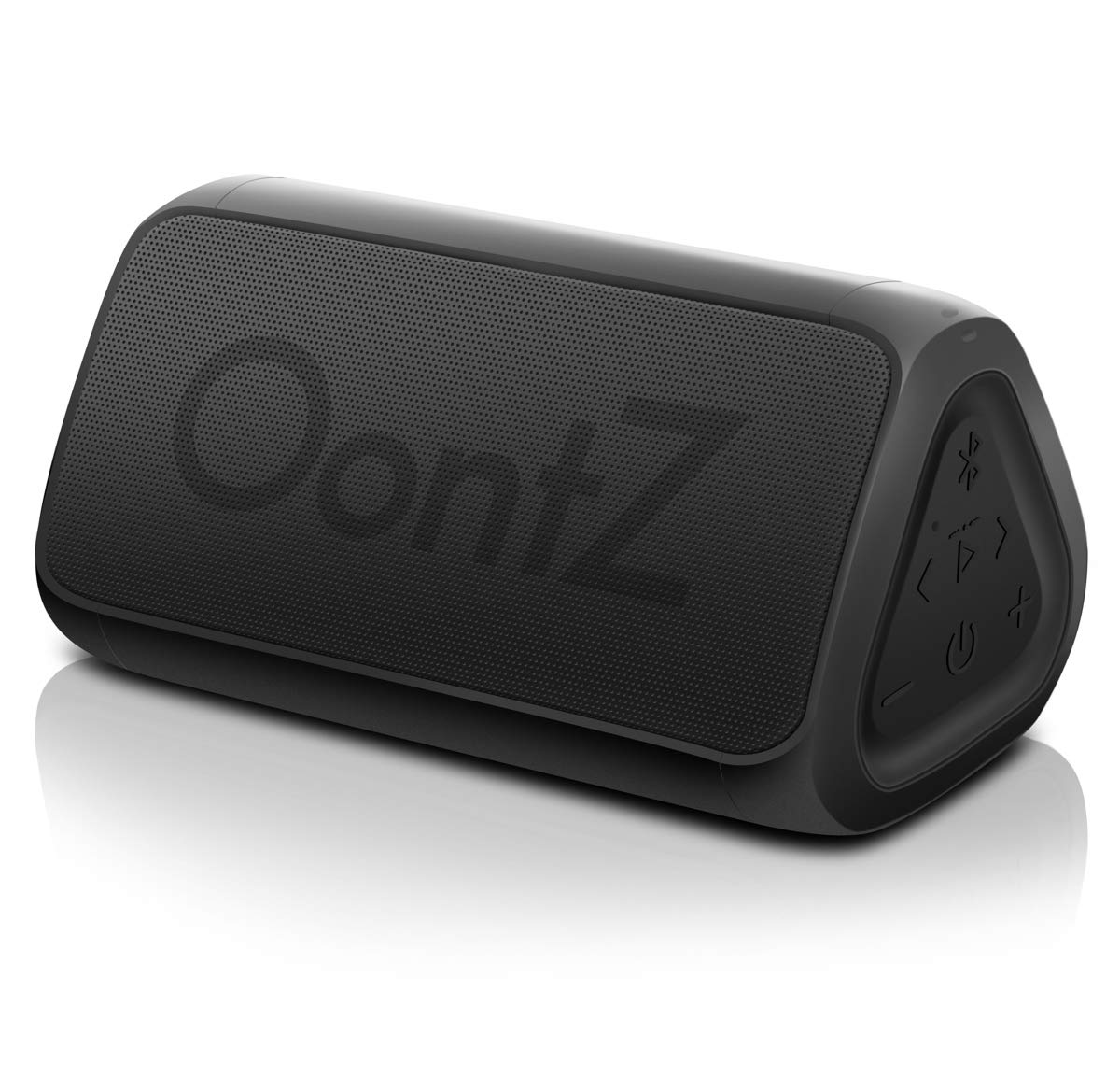 Cambridge SoundWorks OontZ Angle 3 RainDance IPX7 Waterproof Portable Bluetooth Speaker, 10 Watts Power, Louder, Crystal Clear Stereo, Richer Bass, 100ft Wireless Range, Bluetooth Speakers by Cambridge Soundworks (Image #1)