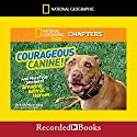 National Geographic Kids Chapters: Courageous Canine and More True Stories of Amazing Animal Heroes Audiobook by Kelly Milner Halls Narrated by Johnny Heller