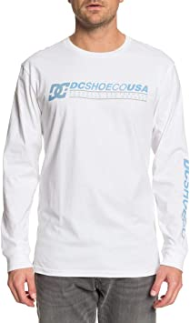 DC Shoes Longer - Camiseta de Manga Larga para Hombre - Camiseta De Manga Larga Hombre: DC Shoes: Amazon.es: Deportes y aire libre