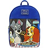Disney Loungefly The Lady and The Tramp Mini Backpack Standard