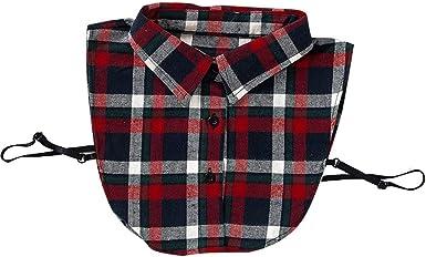 Falsos cuellos postizos Mantas camisas falsa mitad de collar ...