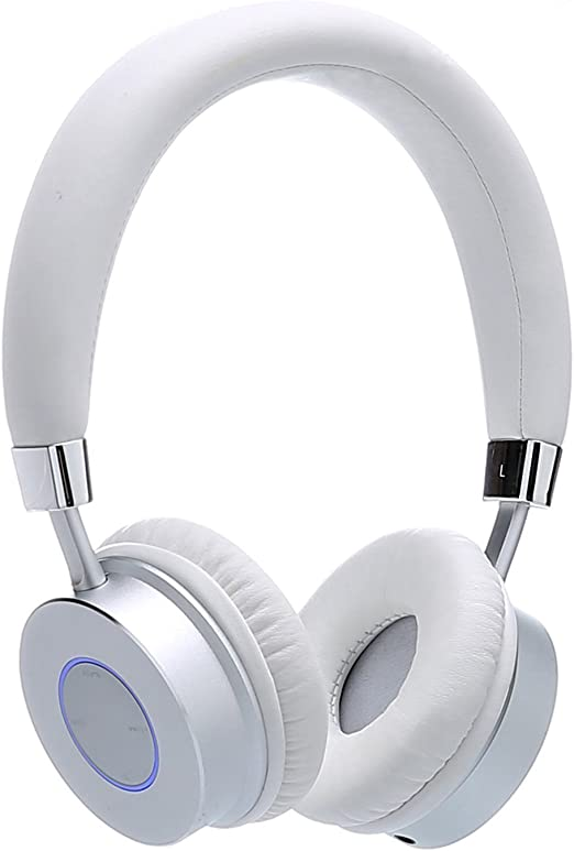 Amazon Com Contixo Kb 200 Premium Kids Headphones With Volume Limit Controls Max 85db Bluetooth Wireless Headphones Over The Ear With Microphone White Best Gift Electronics