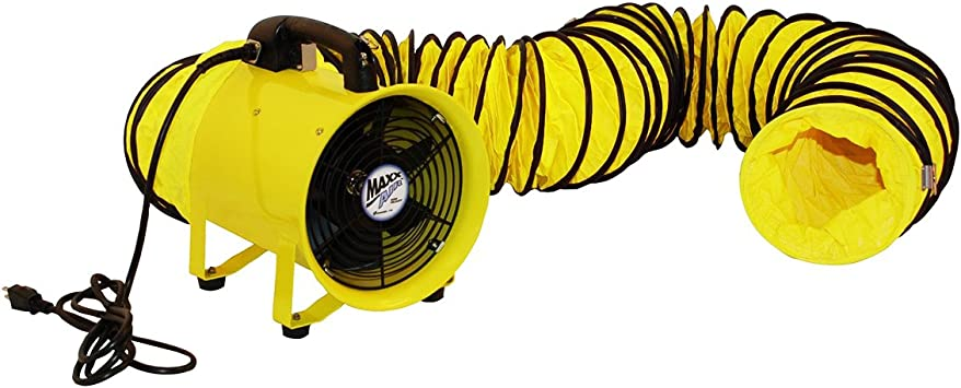 HVHF12COMBOUPS Ventamatic HVHF12COMBO 12-Inch Cylinder Fan with 20-Foot Hose