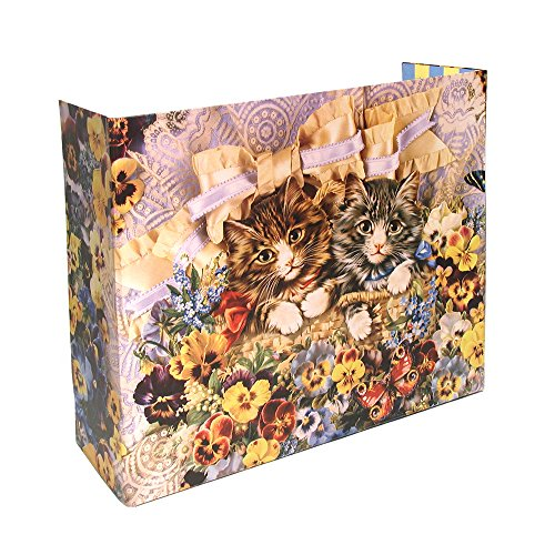 Privé Kitty Litter Screen - Floral Design