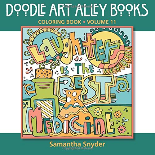 Laughter Is the Best Medicine: Coloring Book (Doodle Art Alley Books) (Volume 11)