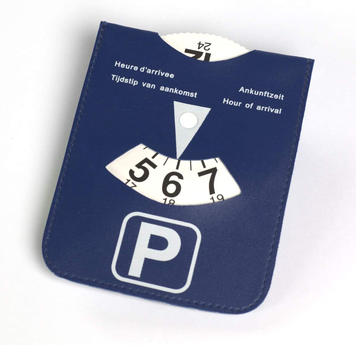 Parking Disc in 4/Languages.