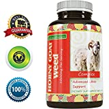 Pure-Horny-Goat-Weed-Supplement-with-fast-acting-Maca-Root-Powder-Natural-Testosterone-booster-Increase-energy-stamina-performance-California-Products-60-Capsules