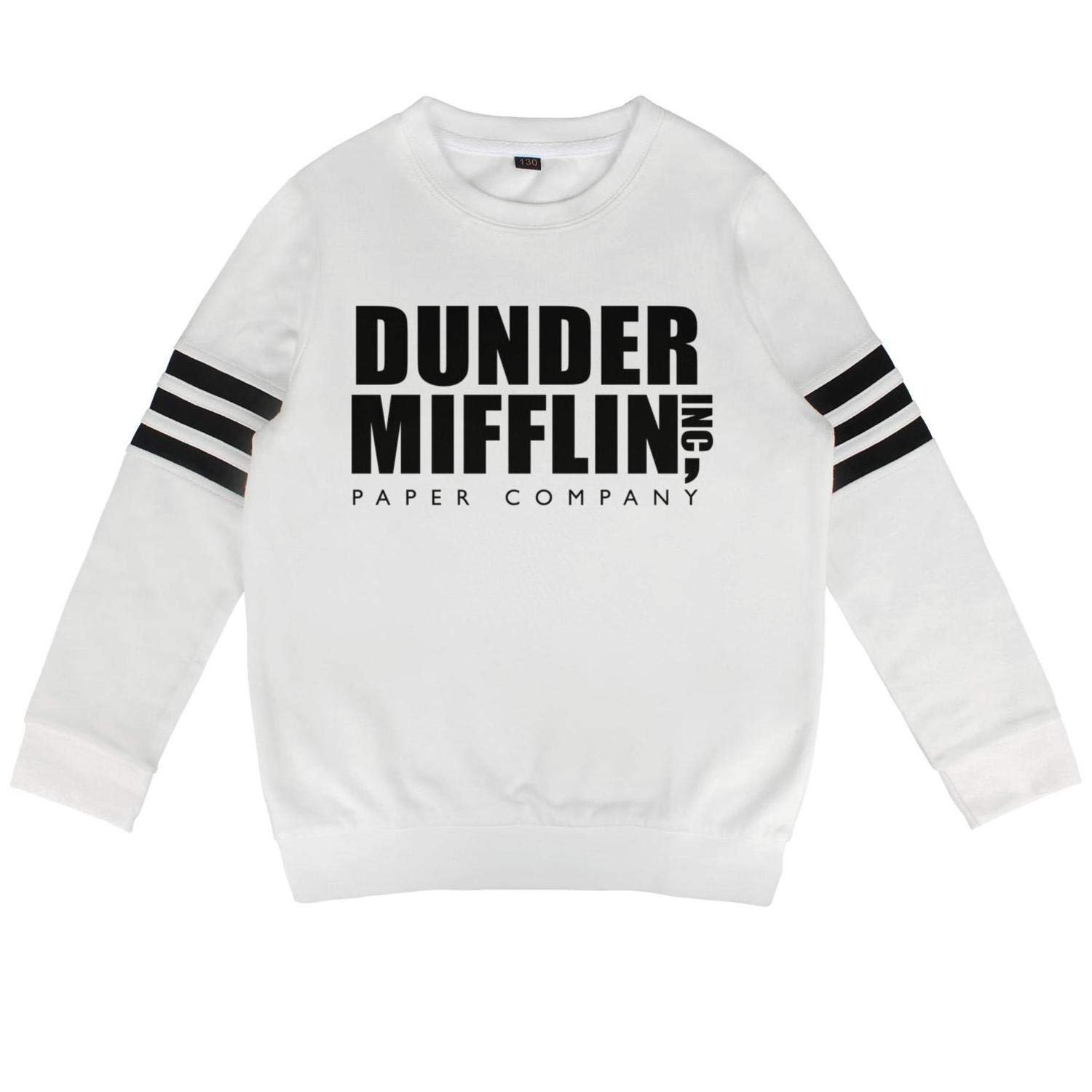 BenS Oscar Hoodies for Boys Girls Dunder Mifflin Paper Lnc Cool Trendy Cotton Long Sleeve Sweatshirt for Kids