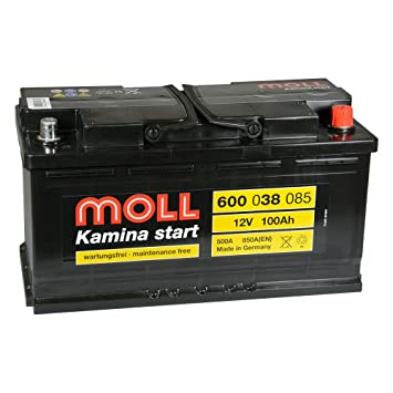 Amazon Fr Moll Batterie Kamina Start 600 038 085 12 V 100 Ah
